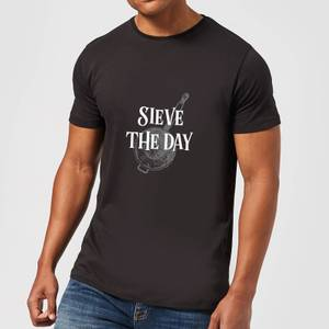Sieve The Day T-Shirt - Black