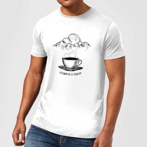 Storm In A Teacup T-Shirt - White