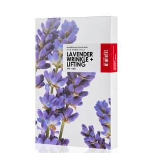 Máscara Antirrugas + Lifting Beauty Planner Lavender da Manefit (Caixa de 5)