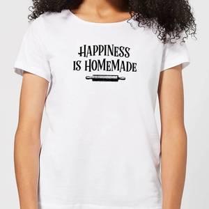 Happiness Is Homemade Women's T-Shirt - White