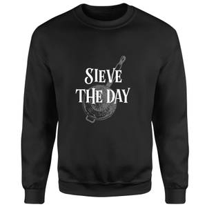 Sieve The Day Sweatshirt - Black