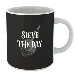 Sieve The Day Mug