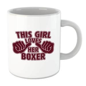 This Girl Loves Her Boxer Mug