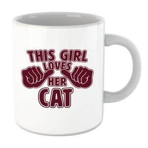 This Girl Loves Her Cat Mug