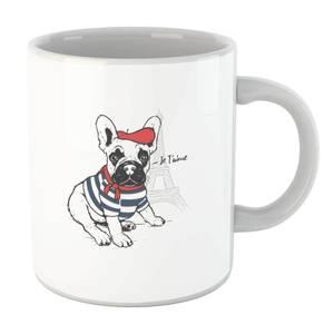 Je T'aime Frenchie Mug