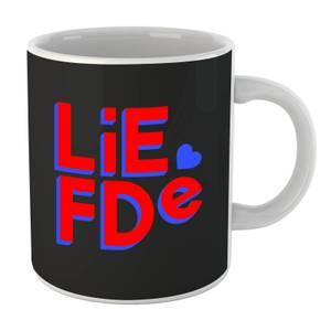 Liefde Block Mug