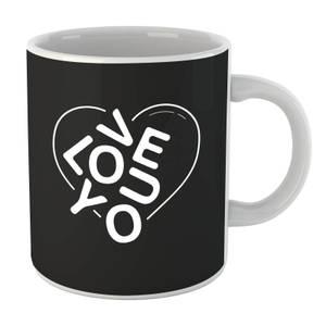 Love You Jumble Mug
