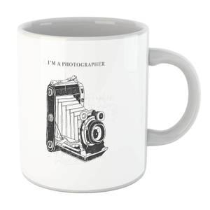 Photography Vintage Scribble Mug