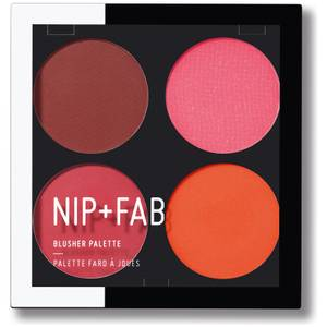 NIP + FAB Make Up Blusher Palette - Blushed Brights 02 15,2 g