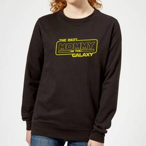 Best Mommy In The Galaxy Women's Sweatshirt - Black