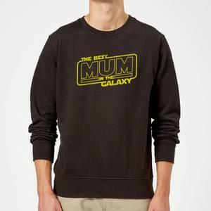 Best Mum In The Galaxy Sweatshirt - Black