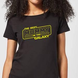 Best Mummy In The Galaxy Women's T-Shirt - Black
