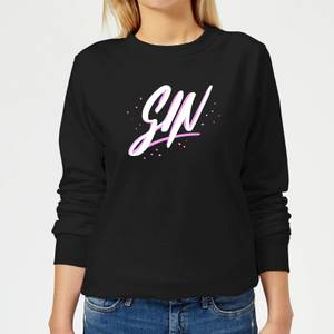 Gin Script Women's Sweatshirt - Black