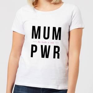 MUM PWR Women's T-Shirt - White