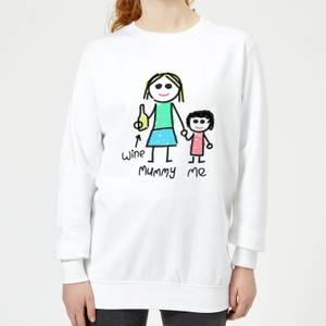 Mummy & Me Women's Sweatshirt - White