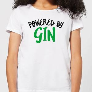 Powered By Gin Women's T-Shirt - White