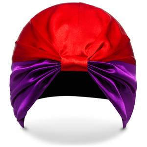 Тюрбан для волос SILKE Hair Wrap The Dita - Purple and Red