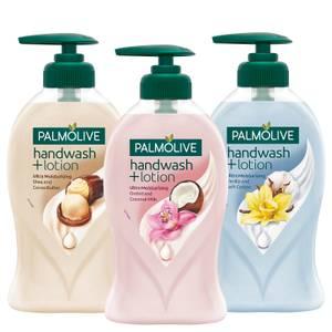 PALMOLIVE handwash + lotion
