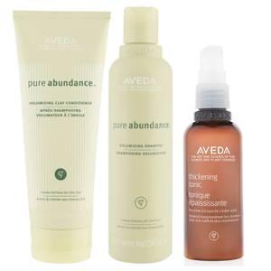 Aveda Pure Abundance Shampoo, Conditioner and Thickening Tonic Trio