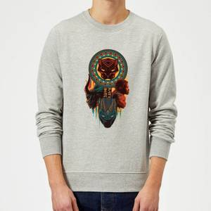 Sweat Homme Totem Black Panther - Gris