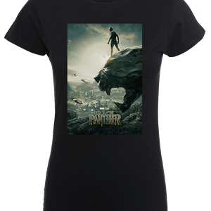 Black Panther Poster Women's T-Shirt - Black