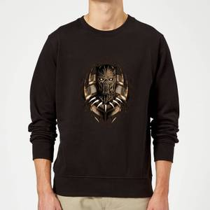 Black Panther Gold Erik Sweatshirt - Black