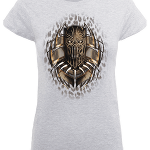 Black Panther Gold Erik Women's T-Shirt - Grey