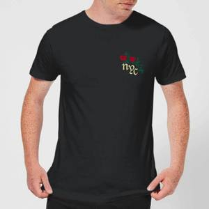 NYC Rose T-Shirt - Black