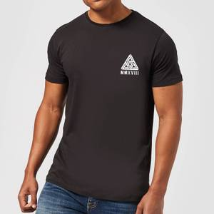 Abstract Triangle T-Shirt - Black