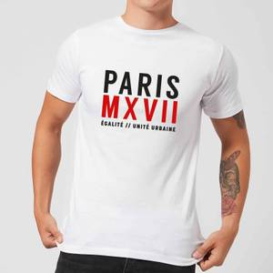 Paris Unite Urbaine T-Shirt - White