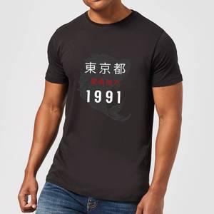 T-Shirt Homme Tokyo 1991 - Noir