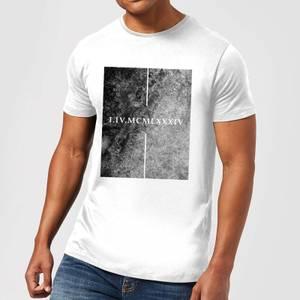 T-Shirt Homme Roman 1984 - Blanc