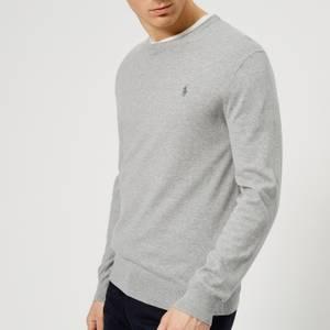 Polo Ralph Lauren Men's Slim Fit Cotton Sweater - Andover Heather