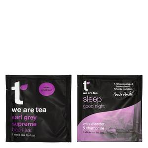 we are tea - Earl Grey & Sleep Tea Bags