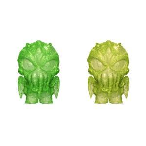 Figurines Hikari Cthulhu Vert Et Jaune - H.P Lovecraft (Lot De 2)
