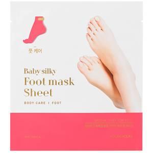 Увлажняющая тканевая маска для ног Holika Holika Baby Silky Foot Mask Sheet