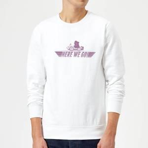 Nintendo Mario Kart Here We Go Wario Sweatshirt - White