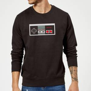 Felpa Nintendo NES Controller Chest - Nero
