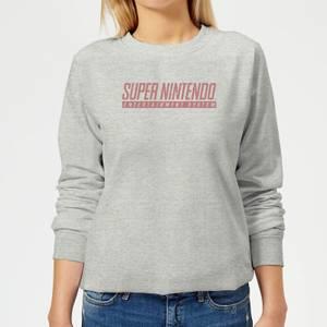 Nintendo SNES Women's Sweatshirt - Grey