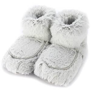 Warmies Marshmallow Boots - Grey