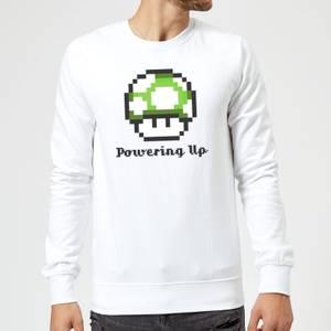 Sudadera Nintendo Super Mario Champiñón 1UP - Hombre - Blanco