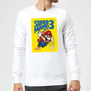 Nintendo Super Mario Bros 3 Sweatshirt - White