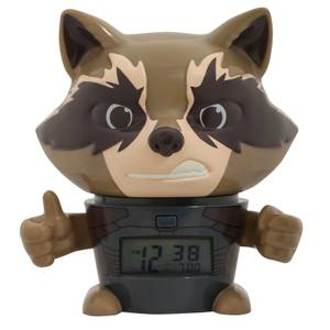 Bulbbotz Marvel The Avengers: Infinity War Rocket Raccoon Nachtlicht Wecker