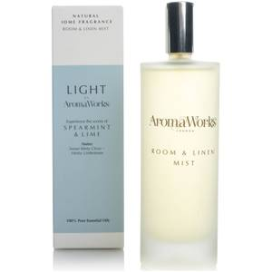 AromaWorks Light Range Room Mist - Spearmint and Lime