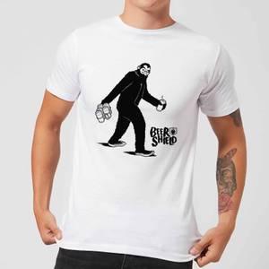 T-Shirt Homme Bigfoot - Blanc