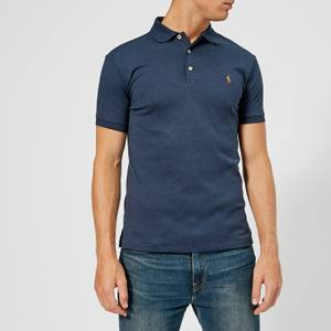 Polo Ralph Lauren Men's Slim Fit Soft Cotton Polo Shirt - Spring Navy Heather