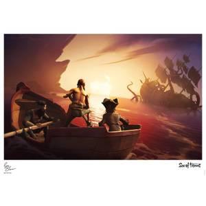 Sea of Thieves Limited Edition Art Print - Kraken