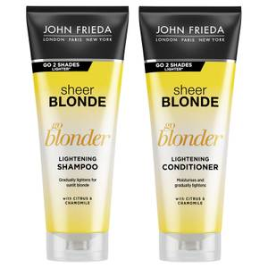 JOHN FRIEDA Sheer Blonde Go Blonder Shampoo & Conditioner