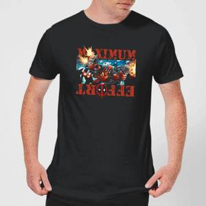 Marvel Deadpool Maximum Effort T-Shirt - Black