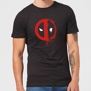 T-Shirt Homme Deadpool (Marvel) Split Splat Logo - Noir